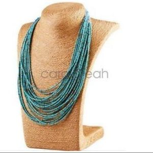 ❤️gorgeous bohemian style multilayer green beads